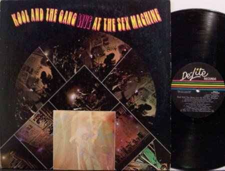 Kool & The Gang - Live At The Sex Machine - Vinyl LP Record - R&B Soul