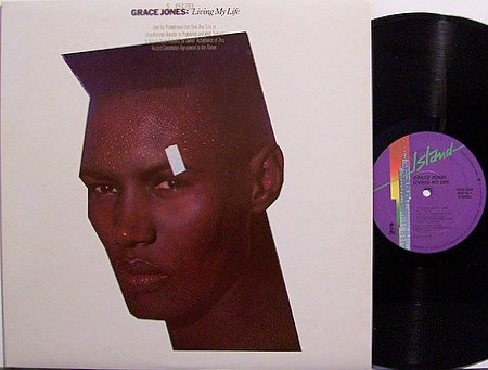Jones, Grace - Living My Life - Vinyl LP Record - R&B Soul