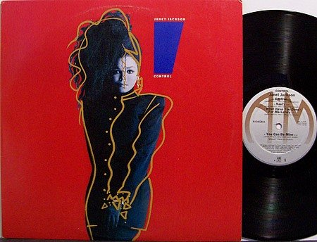 Jackson, Janet - Control - Vinyl LP Record - R&B Soul