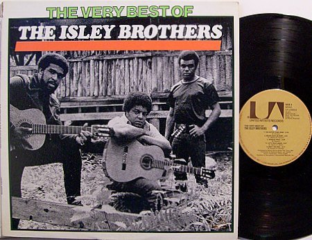 Isley Brothers, The - Very Best Of - Vinyl LP Record - R&B Soul