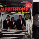 Impressions, The - One By One - Featuring Curtis Mayfield Vinyl LP Record - R&B Soul