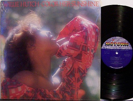 Hutch, Willie - Color Her Sunshine - Vinyl LP Record - R&B Soul