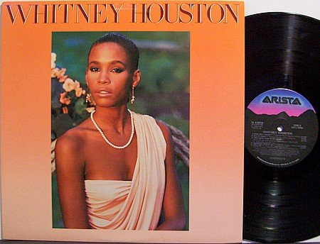 Houston, Whitney - Self Titled - Vinyl LP Record - R&B Soul
