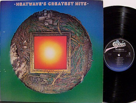 Heatwave - Heatwave's Greatest Hits - Vinyl LP Record - Promo - R&B Soul