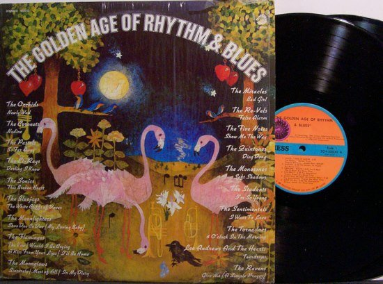 Golden Age Of Rhythm & Blues - Various Artists - Vinyl 2 LP Record Set - Chess Label -  R&B Soul