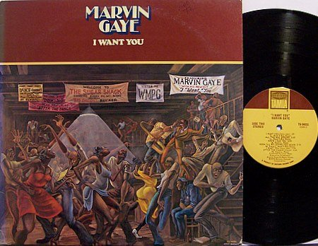 Gaye, Marvin - I Want You - Vinyl LP Record - R&B Soul
