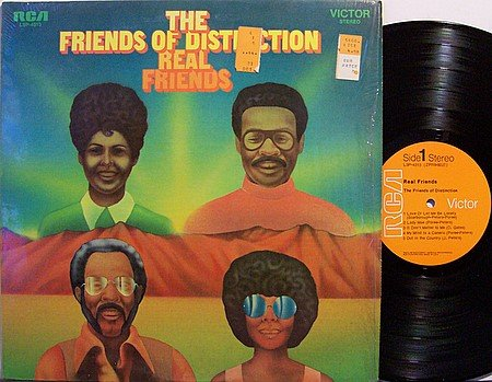 Friends Of Distinction, The - Real Friends - Vinyl LP Record - R&B Soul