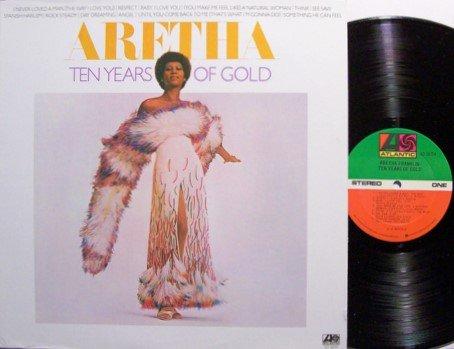 Franklin, Aretha - Ten Years Of Gold - Vinyl LP Record - R&B Soul