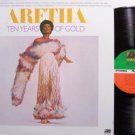 Franklin, Aretha - Ten Years Of Gold - Vinyl LP Record - R&B Soul
