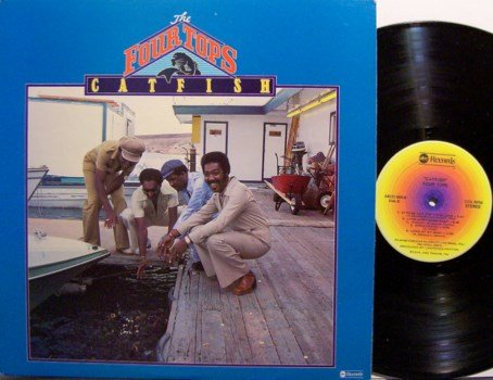 Four Tops, The - Catfish - Vinyl LP Record - R&B Soul