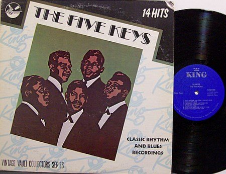 Five Keys, The - 14 Hits - Vinyl LP Record - R&B Soul