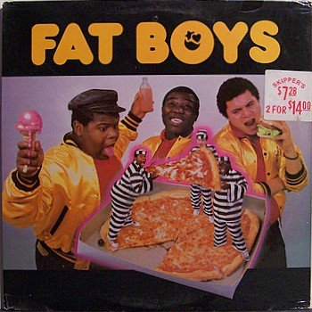 Fat Boys, The - Self Titled - Sealed Vinyl LP Record - R&B Soul Rap Hip Hop