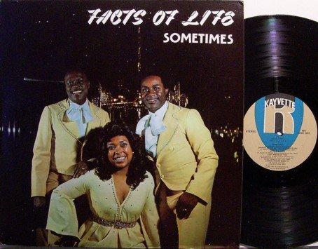 Facts Of Life - Sometimes - Vinyl LP Record - R&B Soul