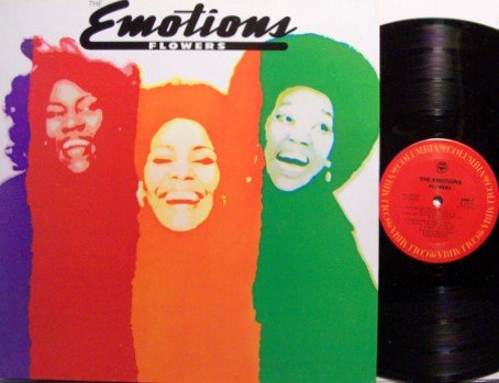 Emotions, The - Flowers - Vinyl LP Record - R&B Soul