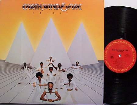 Earth Wind & Fire - Spirit - Vinyl LP Record - R&B Soul