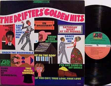 Drifters, The - Golden Hits - Vinyl LP Record - R&B Soul