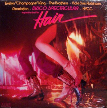 Disco Spectacular Inspired By The Film Hair - Sealed Vinyl LP Record - Various Artists - DJ Dance
