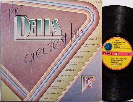 Dells, The - Greatest Hits Volume 2 - Vinyl LP Record - R&B Soul