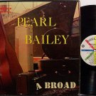 Bailey, Pearl - A Broad - Vinyl LP Record - R&B Soul Pop Blues