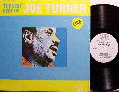 Turner, Joe - The Very Best Of Joe Turner Live - Vinyl LP Record - Blues