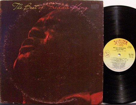 King, Freddie - The Best Of Freddie King - Vinyl LP Record - Blues