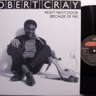 "Cray, Robert - Right Next Door Because Of Me - Vinyl 12"" Single Record - Promo - Blues"