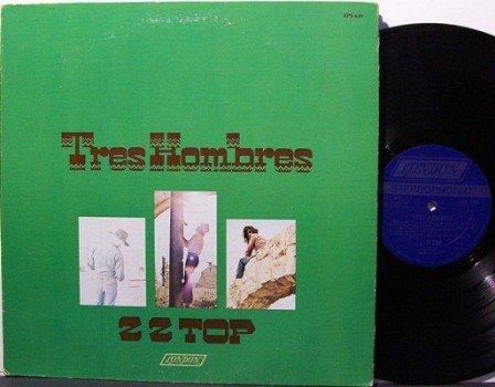ZZ Top - Tres Hombres - Vinyl LP Record - Z.Z. - Texas Southern Rock