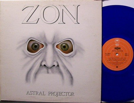 Zon Astral Projector Blue Colored Vinyl Canadian