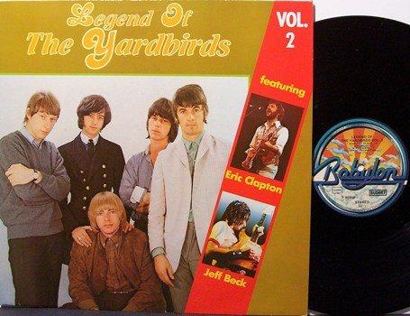 Yardbirds - Legend Of The Yardbirds Vol. 2 - Vinyl LP Record - German Pressing - Rock