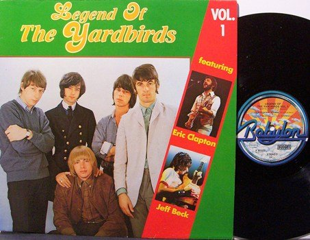Yardbirds - Legend Of The Yardbirds Vol. 1 - Vinyl LP Record - German Pressing - Rock