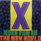 X - More Fun In The New World - Sealed Vinyl LP Record - Rock