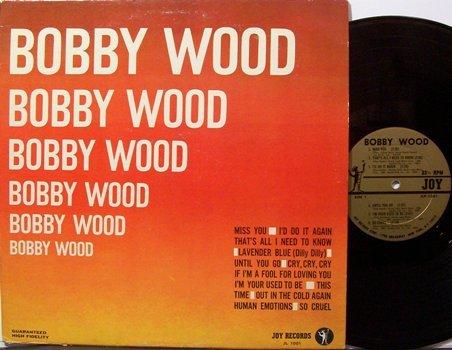 Wood, Bobby - Self Titled - Vinyl LP Record - Pop Rock