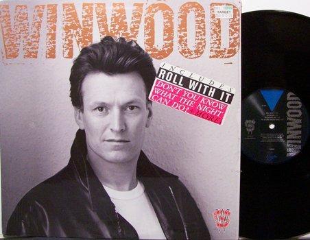 Winwood, Steve - Roll With It - Vinyl LP Record - Rock