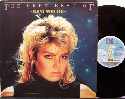 Wilde. Kim - The Very Best Of - UK Pressing - Vinyl LP Record - Rock