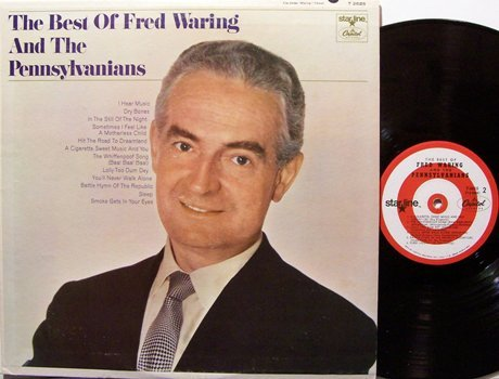 Waring, Fred & The Pennsylvanians - Best Of - Vinyl LP Record - Pop