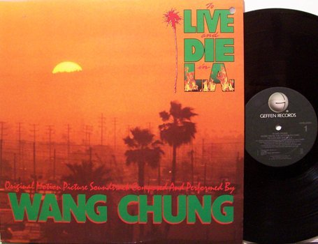 Wang Chung - To Live And Die In L.A. - Vinyl LP Record - Rock Soundtrack
