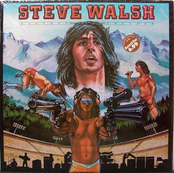 Walsh, Steve - Schemer Dreamer - Sealed Vinyl LP Record - Kansas - Rock