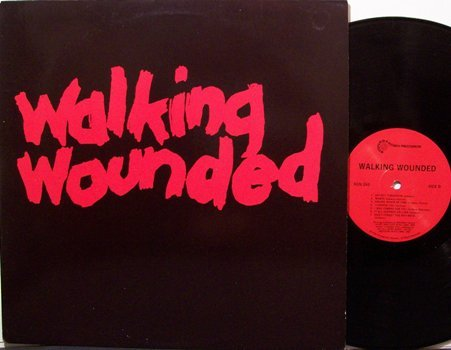 Walking Wounded - Self Titled - Vinyl LP Record - Rock