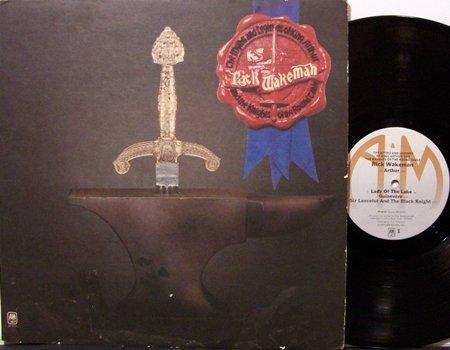 Wakeman, Rick - The Myths & Legends Of King Arthur - Vinyl LP Record + Insert - Yes - Rock