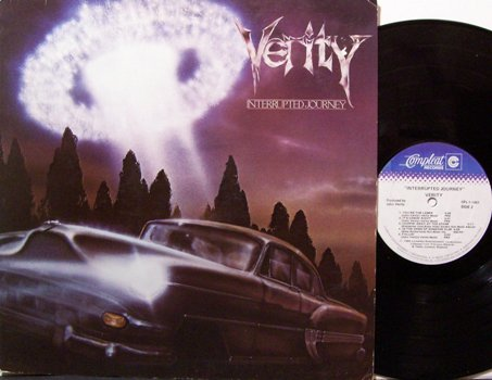 Verity - Interrupted Journey - Vinyl LP Record - Rock
