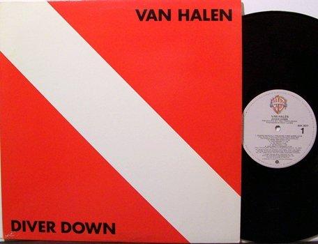 Van Halen - Diver Down - Vinyl LP Record - Rock