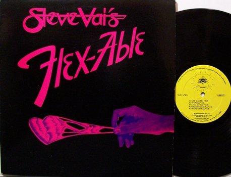 Vai, Steve - Flex-Able - Vinyl LP Record - Flexable - Rock
