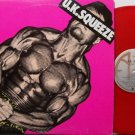 U.K. Squeeze - Self Titled - Red Colored Vinyl - Canada Pressing - Vinyl LP Record - Rock
