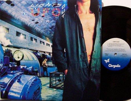 UFO - Lights Out - Vinyl LP Record - Rock