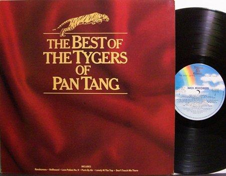 Tygers Of Pan Tang - Best Of The Tigers Of Pan Tang - UK Pressing - Vinyl LP Record - Rock