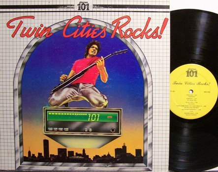 Twin Cities Rocks - Minneapolis / St Paul Various Artists - Vinyl LP Record - Rock