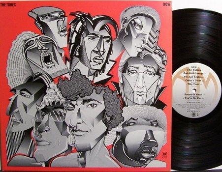 Tubes, The - Now - Vinyl LP Record - Rock