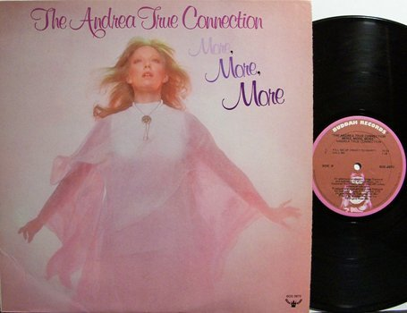 True, Andrea Connection - More More More - Vinyl LP Record - Pop Rock