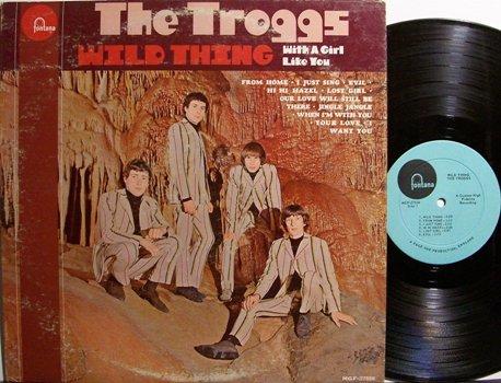 Troggs, The - Wild Thing - Vinyl LP Record - Rock