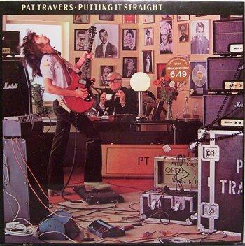 Travers, pat - Putting It Straight - Sealed Vinyl LP Record - Rock